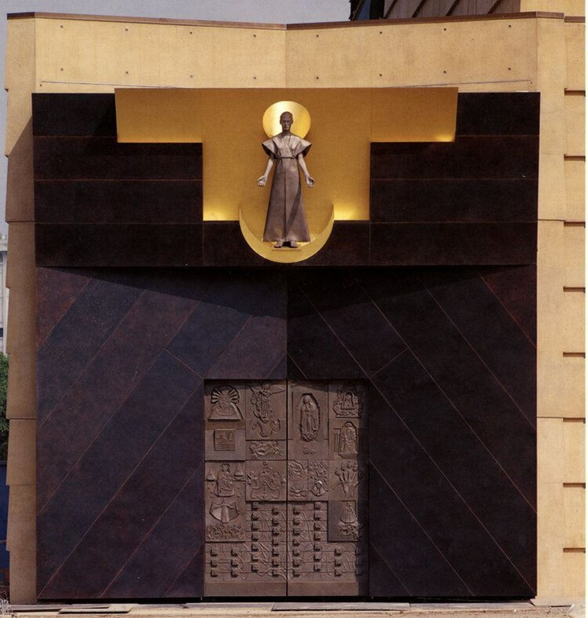 Cathedral of Our Lady of the Angels by Rafael Moneo: A series of acute and obtuse angles - Sheet9