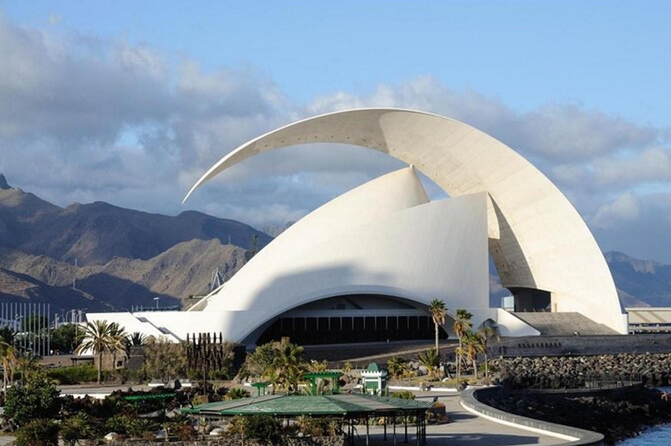 Auditorio de Tenerife Adán Martín by Santiago Calatrava: The great Arc - Sheet1
