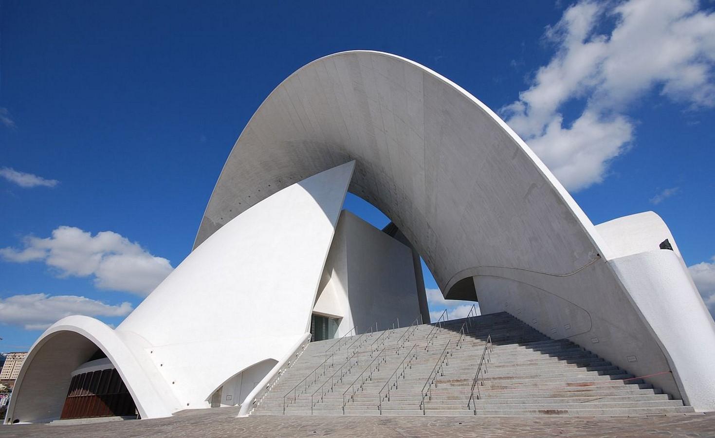 Auditorio de Tenerife Adán Martín by Santiago Calatrava: The great Arc - Sheet7