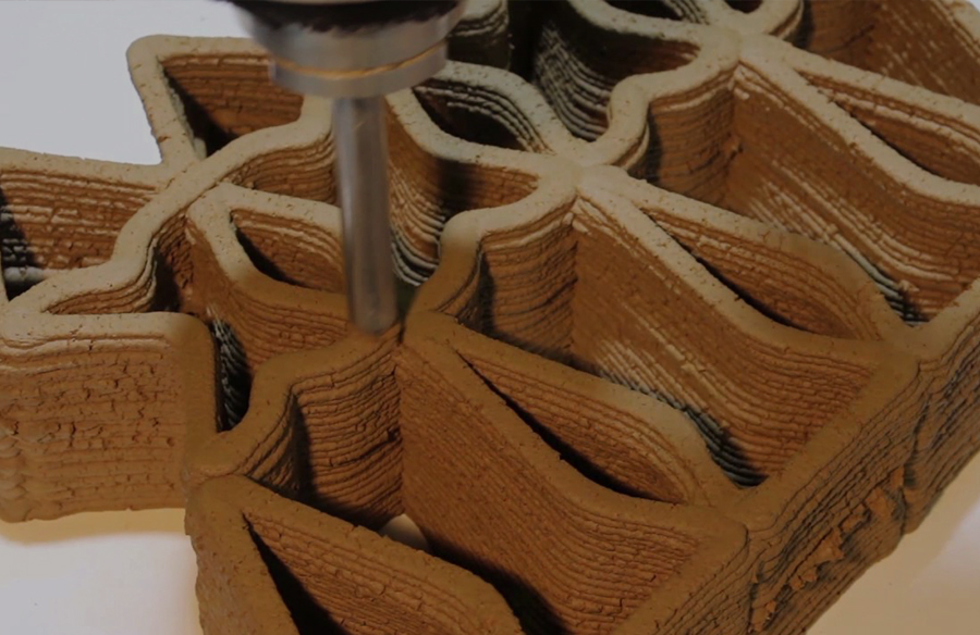 IAAC Research- 3D Printing with 'terra'- a new step in local architecture?