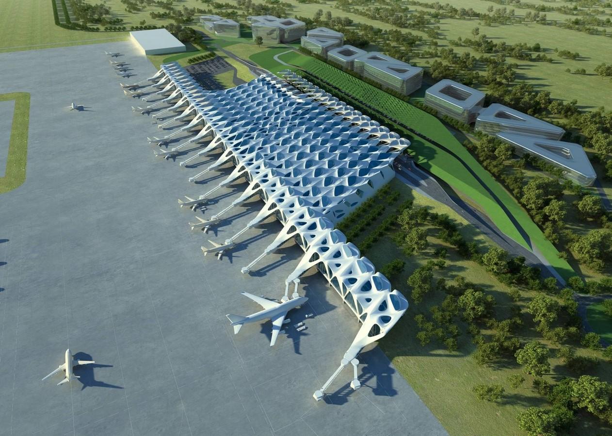 New London Airport, London - Sheet1