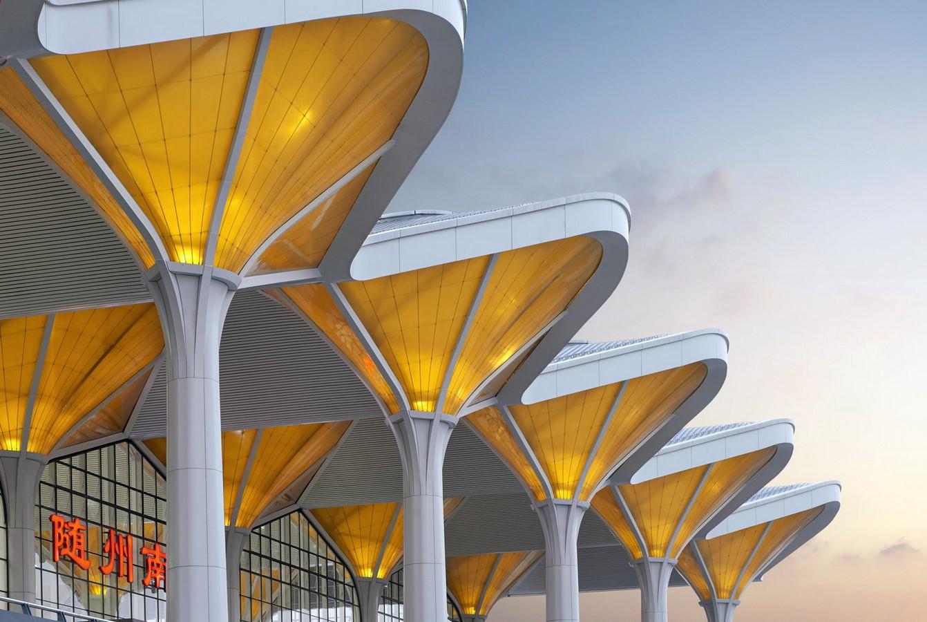 Suizhou South Railway Station, China Sheet