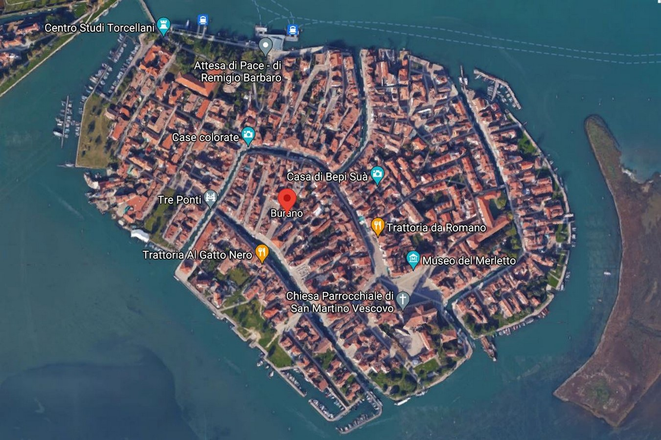Architecture of Cities: Burano, Italy: Rainbow Architecture Sheet1
