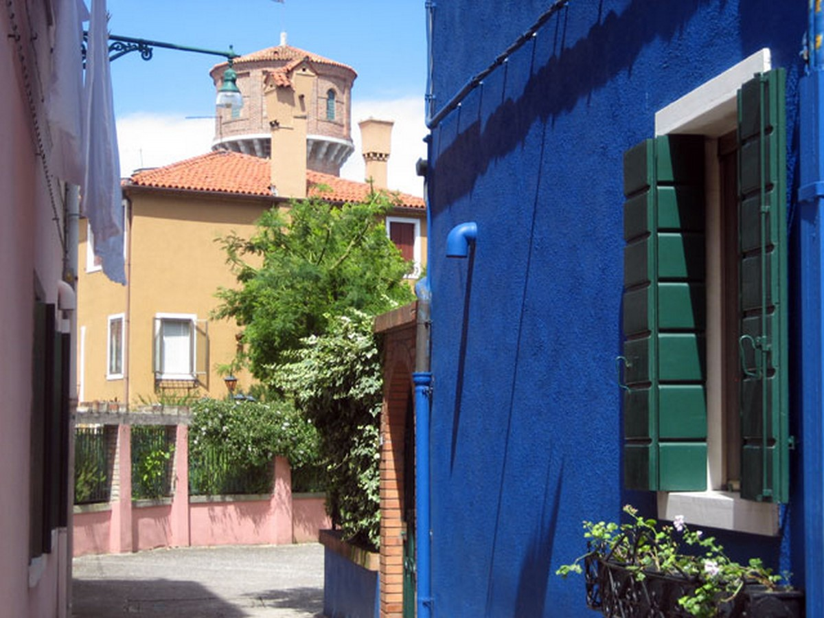 Architecture of Cities: Burano, Italy: Rainbow Architecture Sheet4
