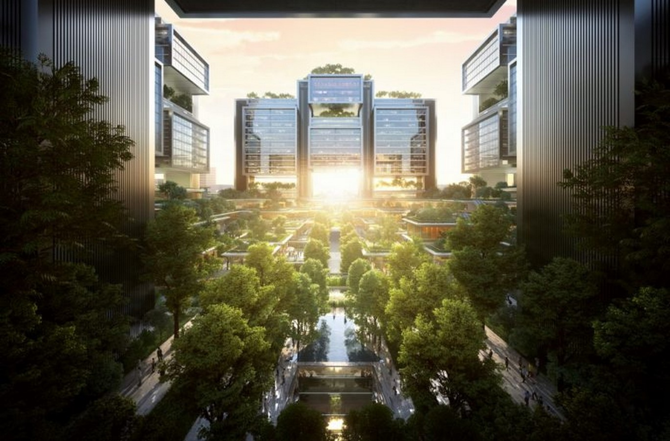Master Plan for forests neighborhoods in Bangkok unveiled by Foster + Partners Sheet1