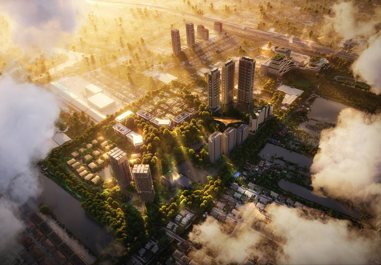 Master Plan for forests neighborhoods in Bangkok unveiled by Foster + Partners Sheet4