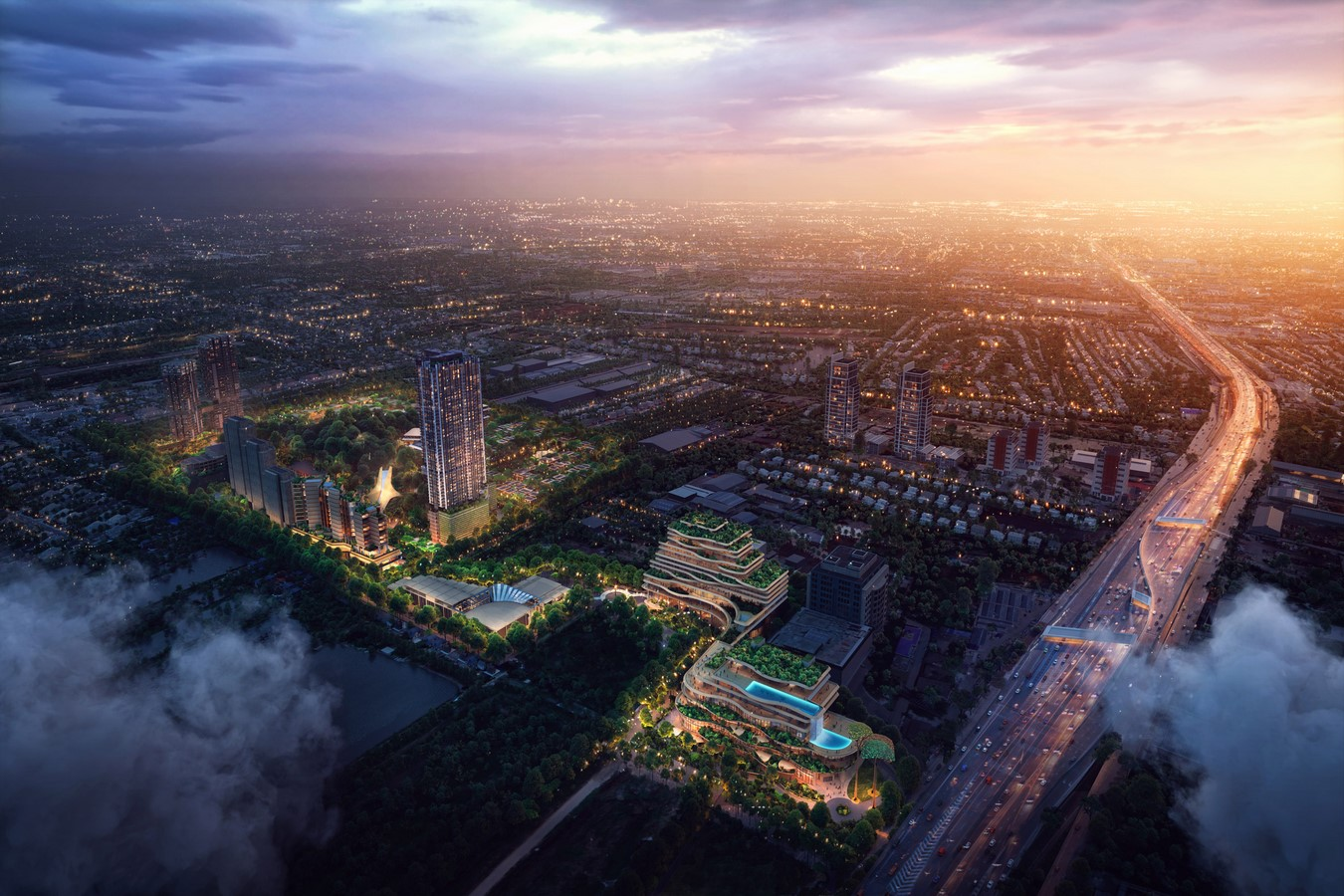 Master Plan for forests neighborhoods in Bangkok unveiled by Foster + Partners Sheet5