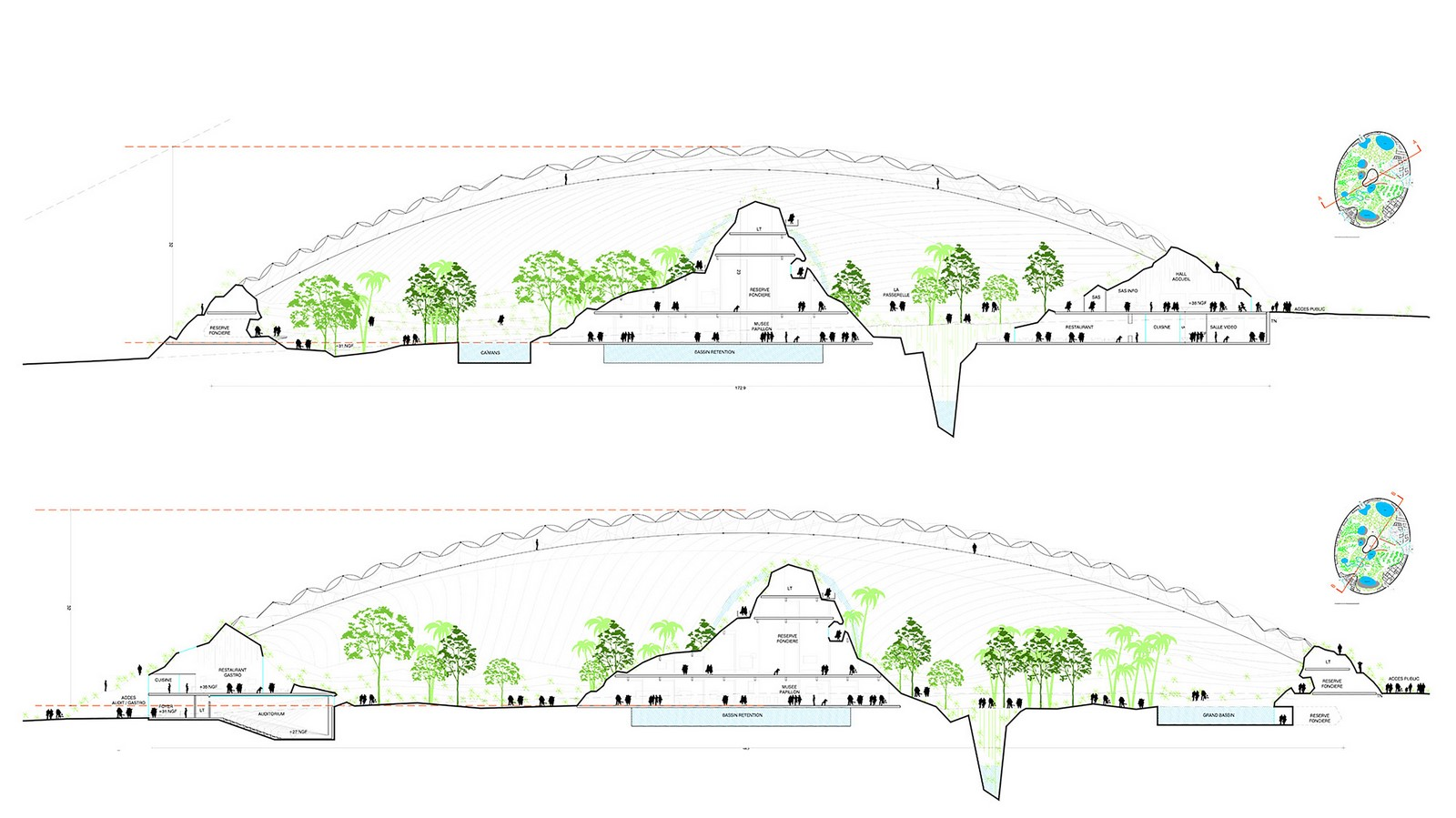 Designs Unveiled For The World's Largest Single- Domed Greenhouse Sheet8