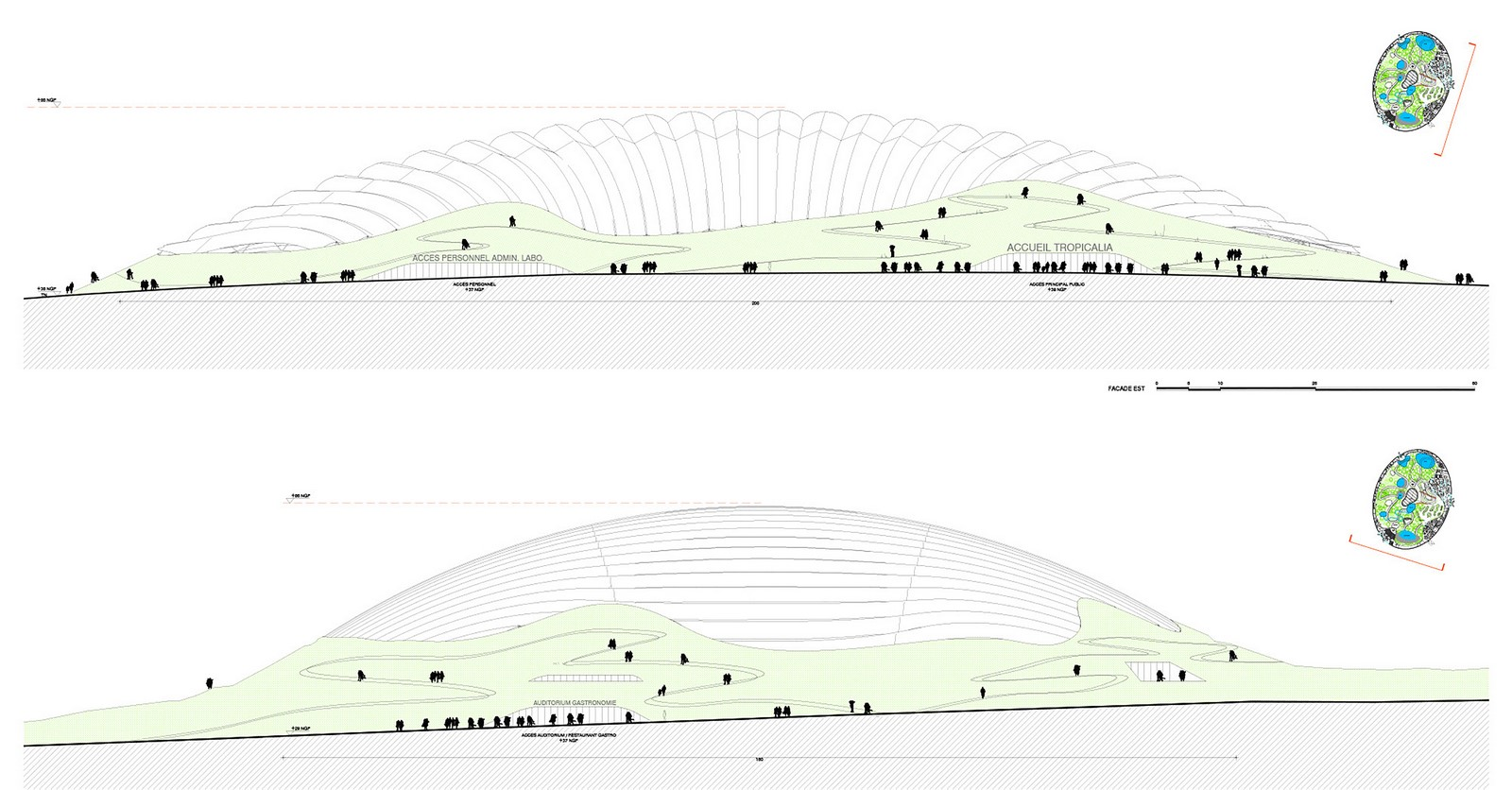 Designs Unveiled For The World's Largest Single-Domed Greenhouse Sheet9