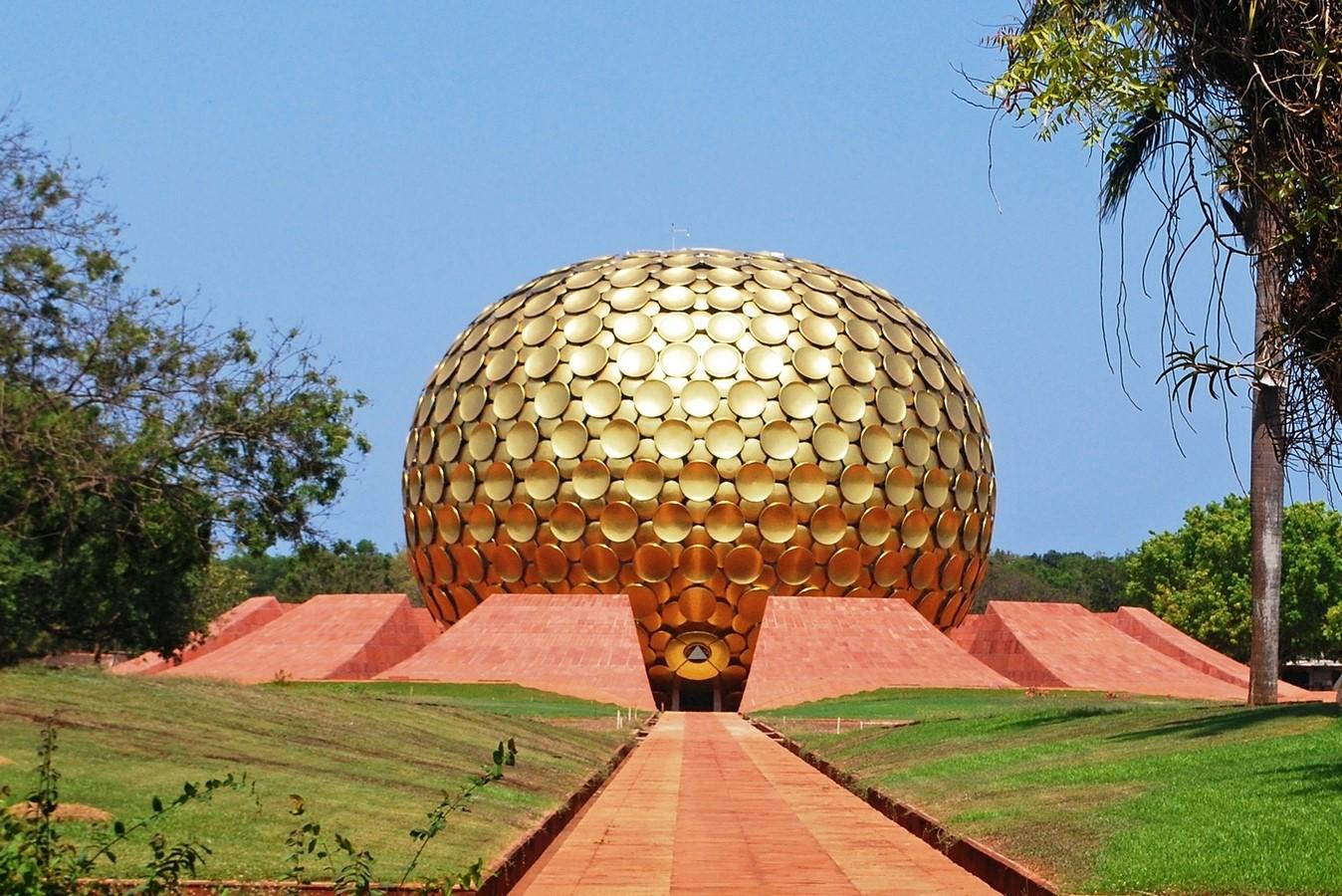 Matri Mandir, Auroville, India Sheet1