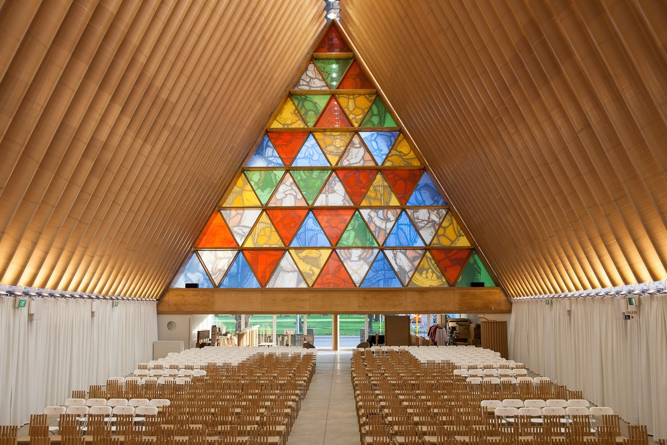 Cardboard Cathedral, New Zealand Sheet2