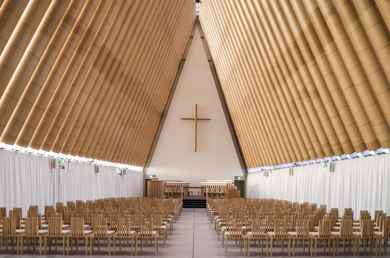 Cardboard Cathedral, New Zealand Sheet3