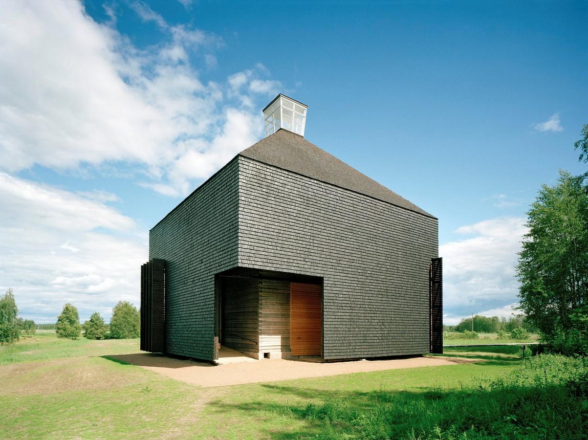 Kärsämäki Shingle Church, Finland Sheet2
