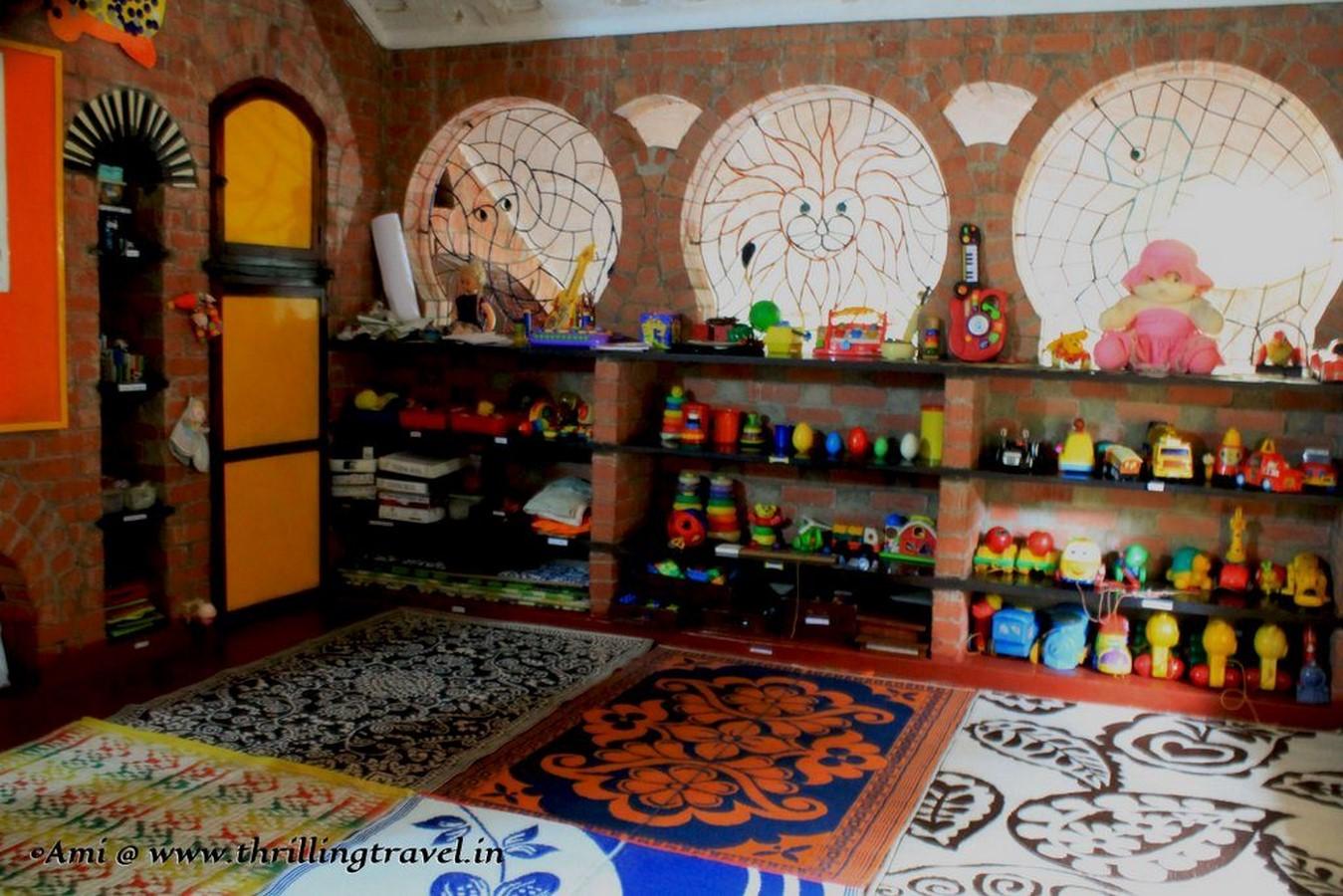 Educational Buildings -Nisha's Playschool, Goa, India sheet1