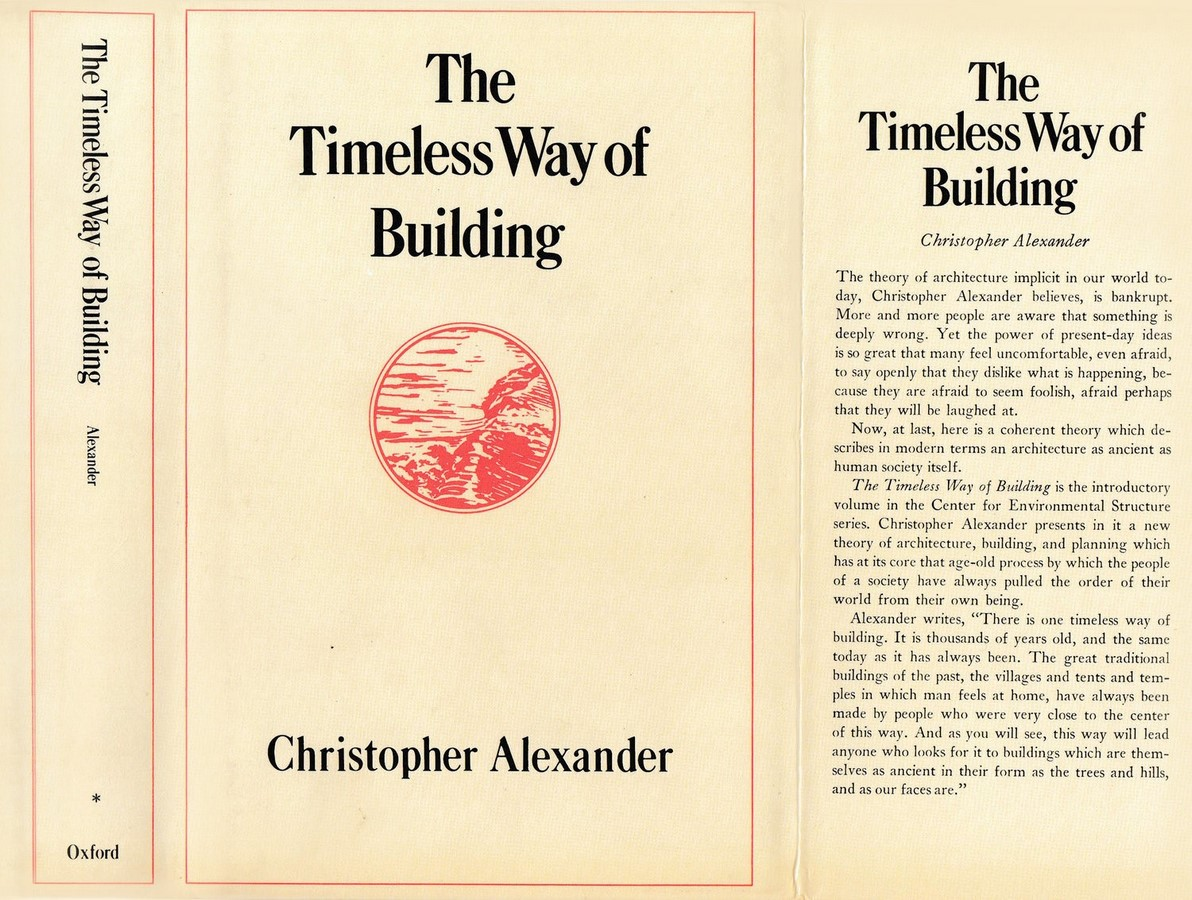 Book in Focus: The Timeless Way of Building by Christopher Alexander Sheet1