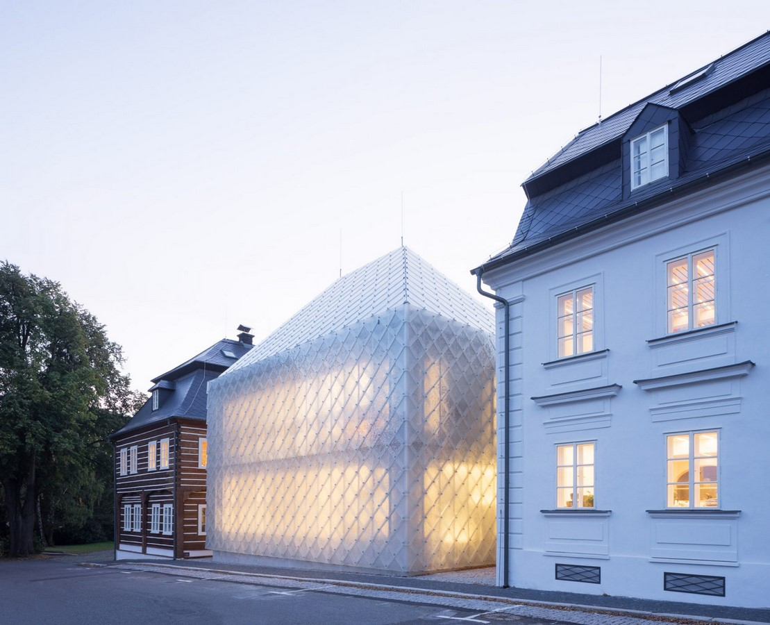 Designs that Engineer Translucency in Architecture Sheet