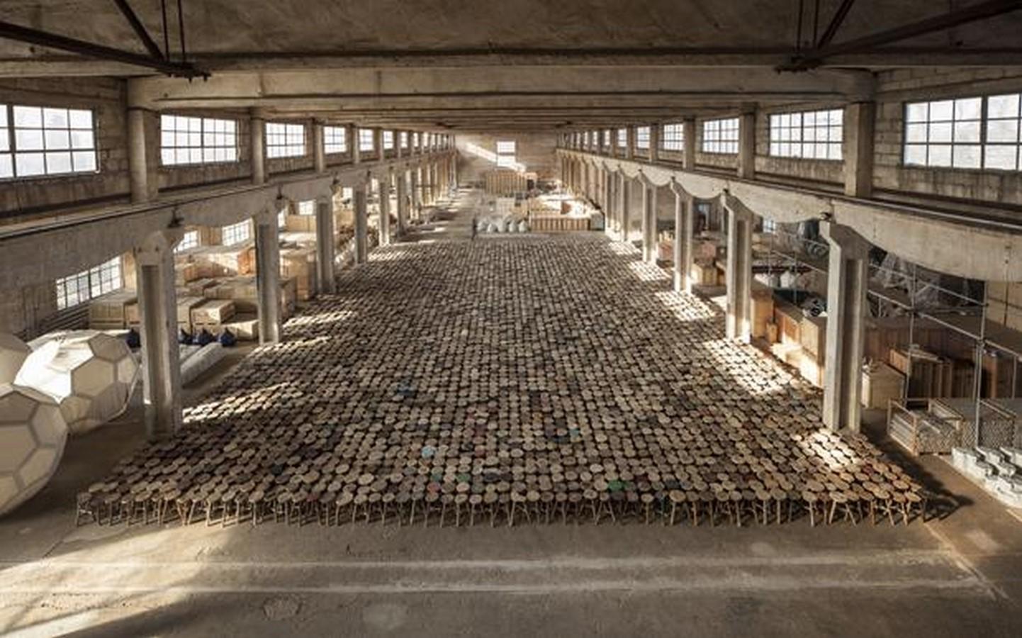 Ai Weiwei -Stools, 2013 Sheet2
