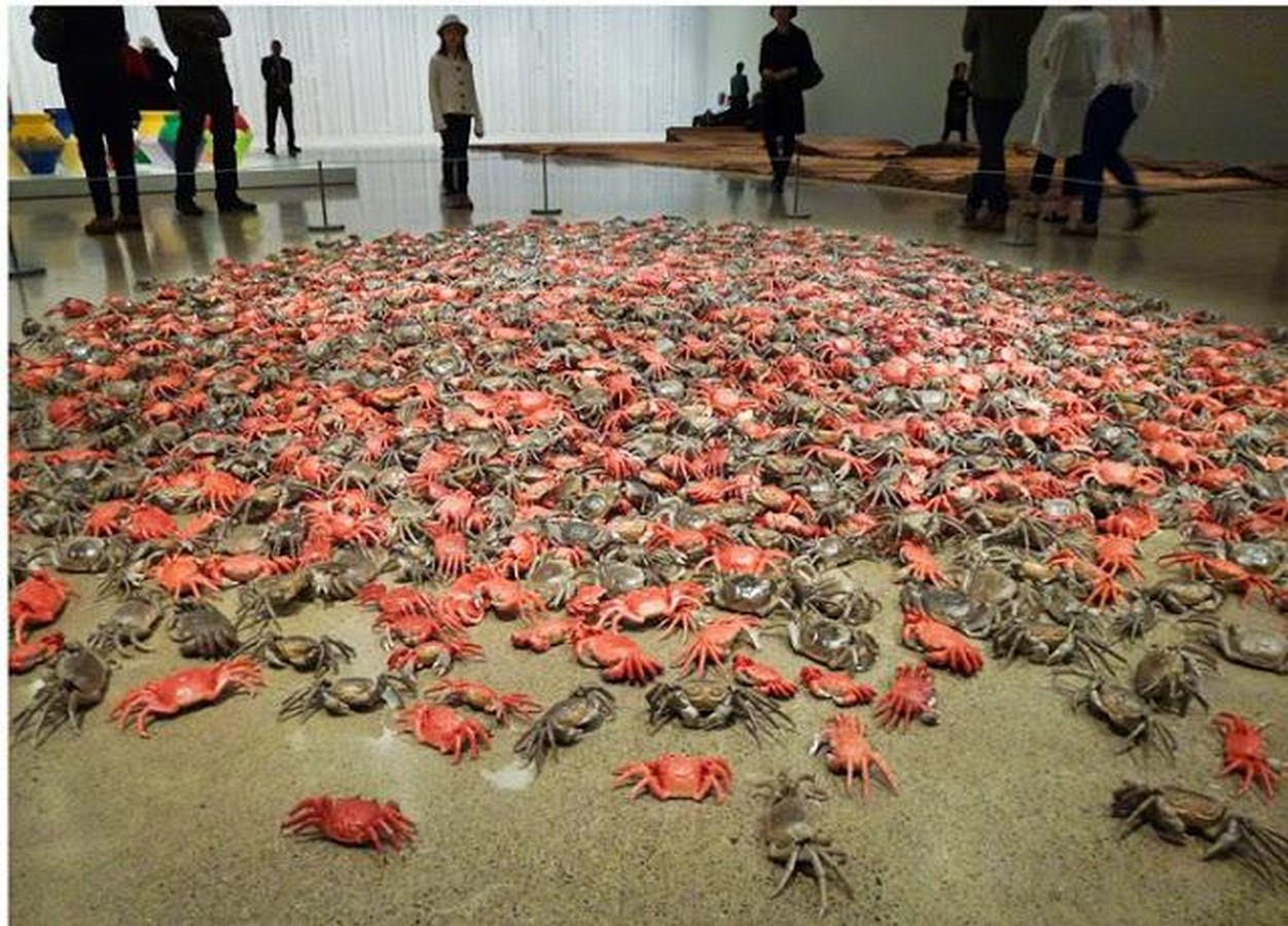 He Xie (River Crabs), 2010 Sheet