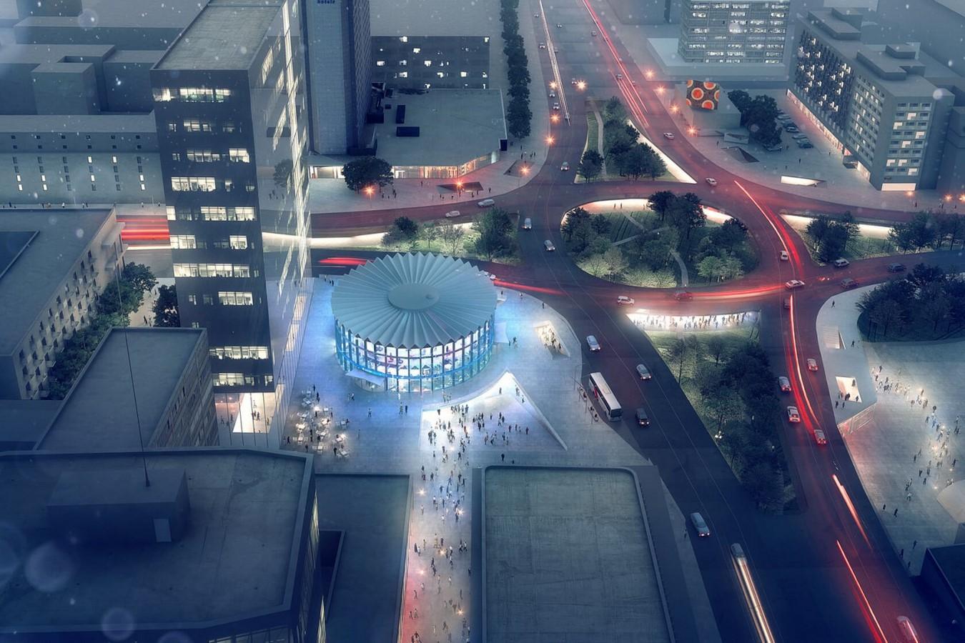 Rotunda Urban Centre by Lina Ghotmeh: City's Kaleidoscope Sheet1