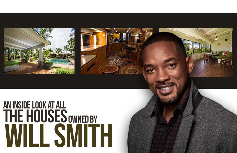 An inside look at all the houses owned by Will Smith