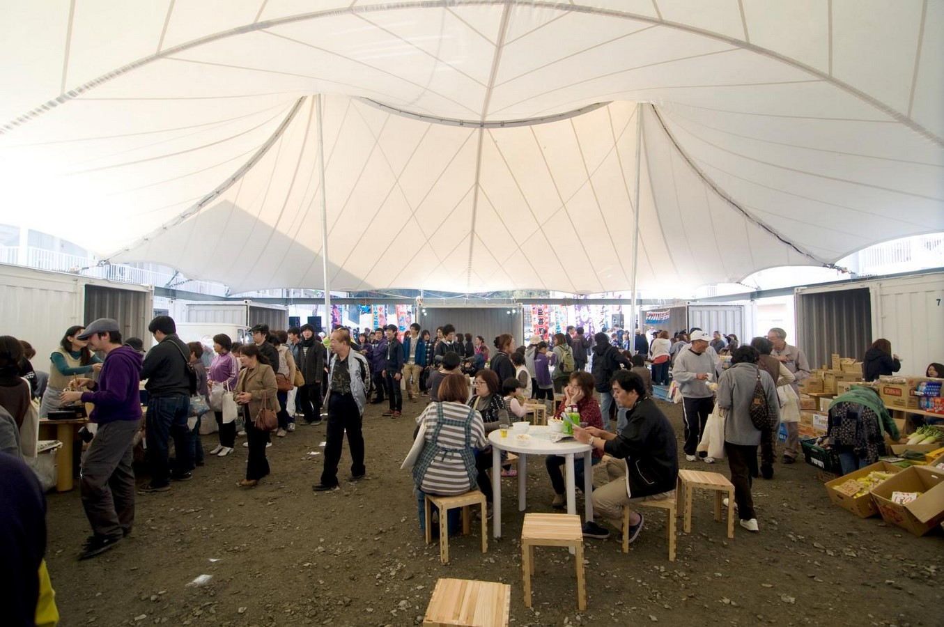Onagawa Container by Shigeru Ban: Temporary Structures with Impactful Design Sheet11