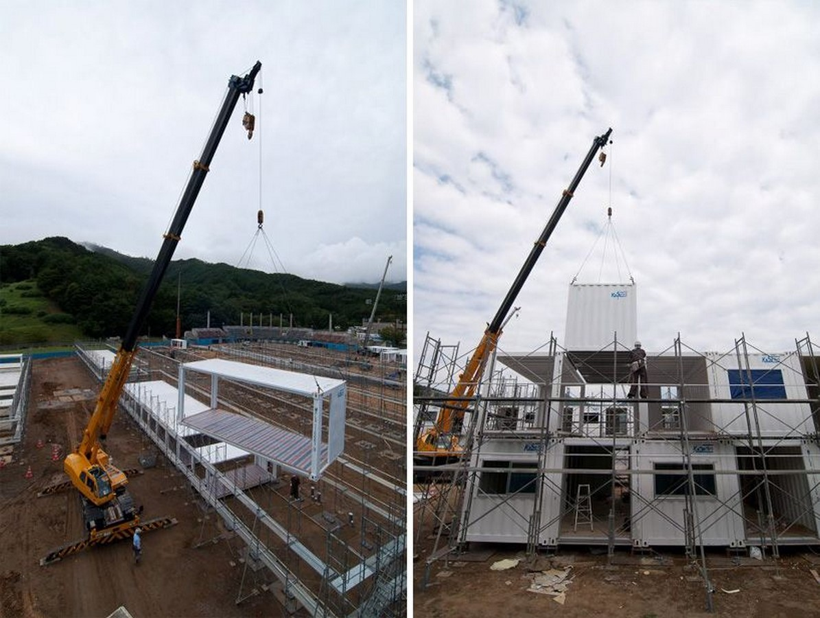 Onagawa Container by Shigeru Ban: Temporary Structures with Impactful Design Sheet15