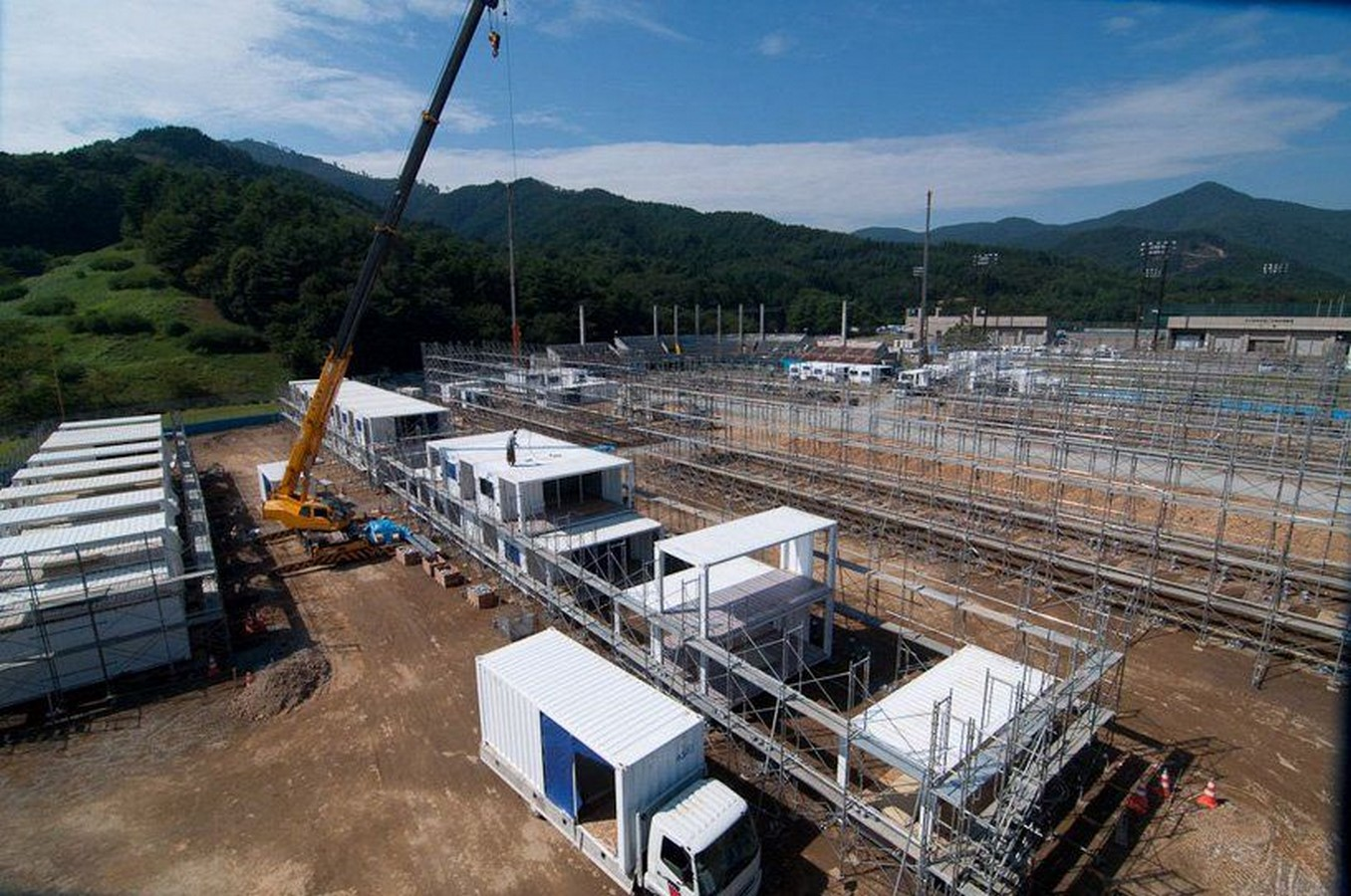 Onagawa Container by Shigeru Ban: Temporary Structures with Impactful Design Sheet16
