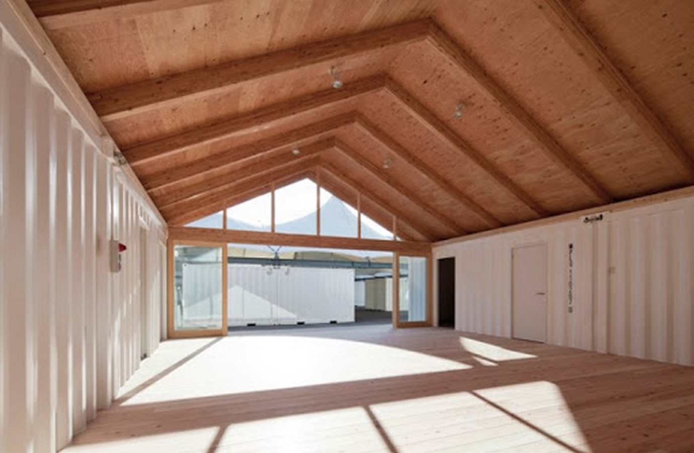 Onagawa Container by Shigeru Ban: Temporary Structures with Impactful Design Sheet9