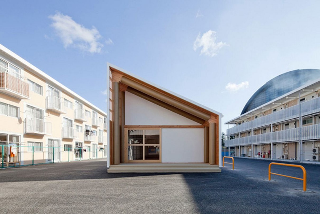 Onagawa Container by Shigeru Ban: Temporary Structures with Impactful Design Sheet13