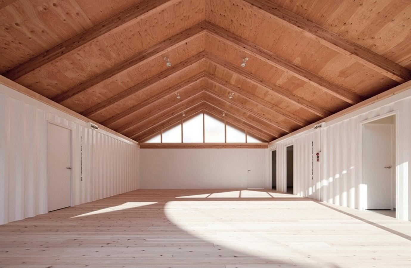 Onagawa Container by Shigeru Ban: Temporary Structures with Impactful Design Sheet8