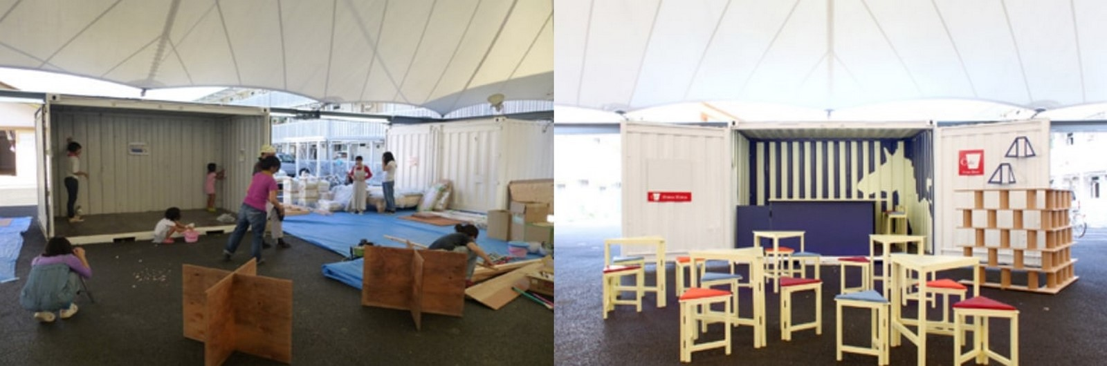 Onagawa Container by Shigeru Ban: Temporary Structures with Impactful Design Sheet14