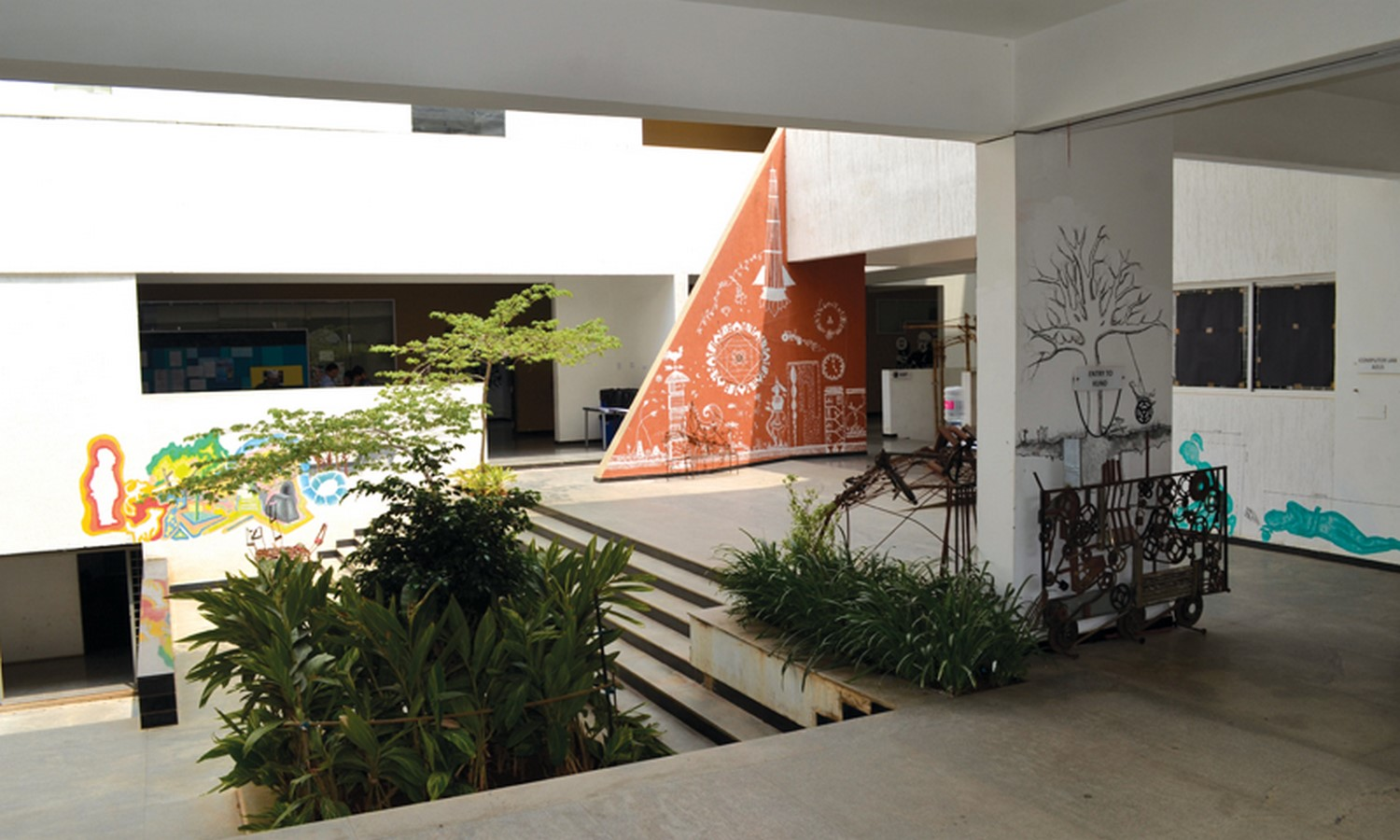 Campus life at RV College of Architecture Sheet2