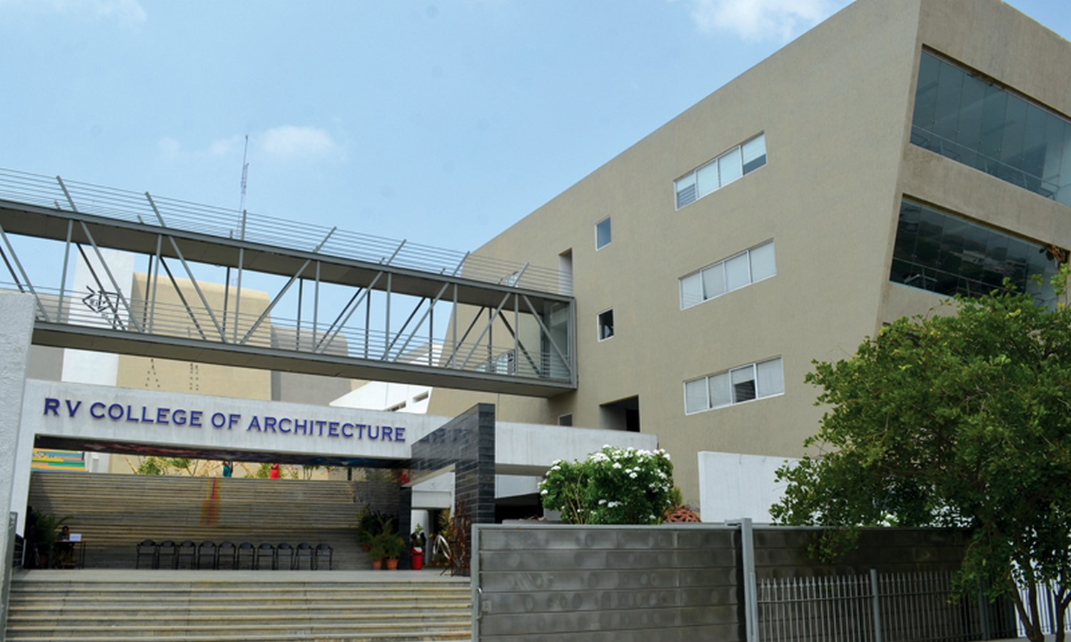 Campus life at RV College of Architecture Sheet3
