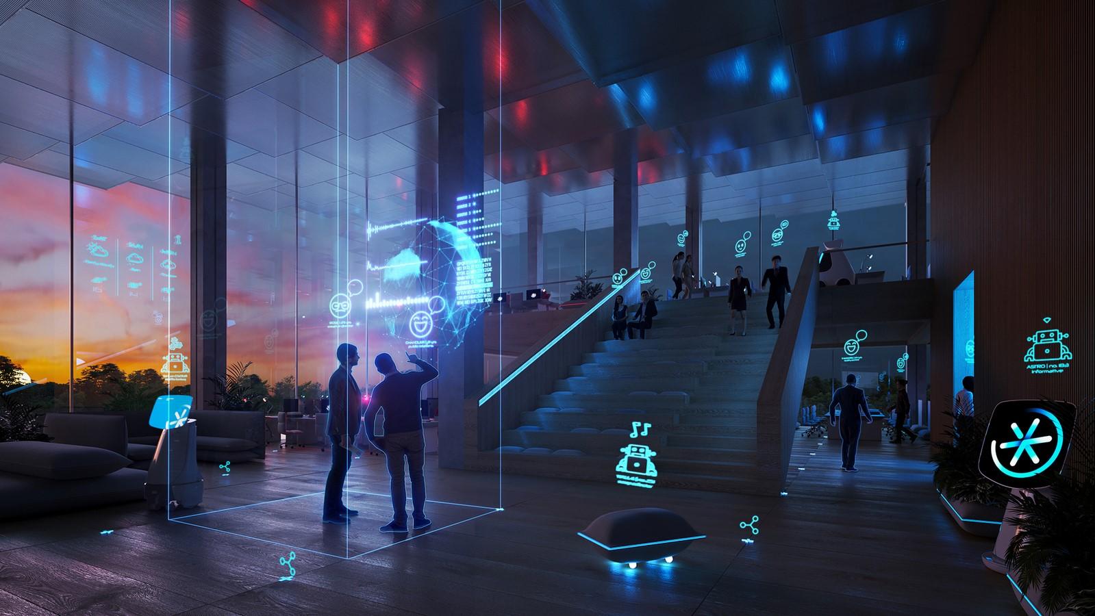 Architecture's futuristic destiny: AI Technology Sheet3