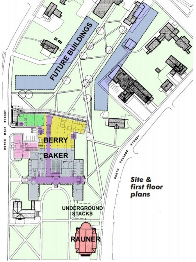 Baker-Berry Library by Robert Venturi: An Iconic representation of the College Sheet6