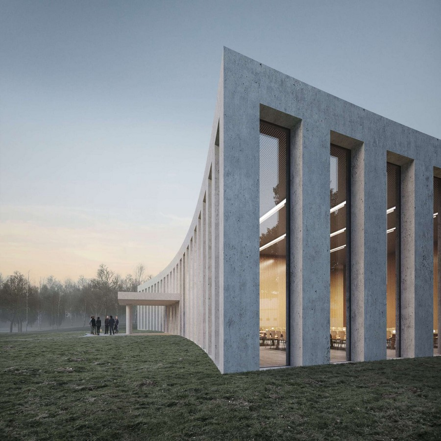 Competition to Design Mess Building for Military Academy in Stockholm won by Tham & Videgård Sheet2