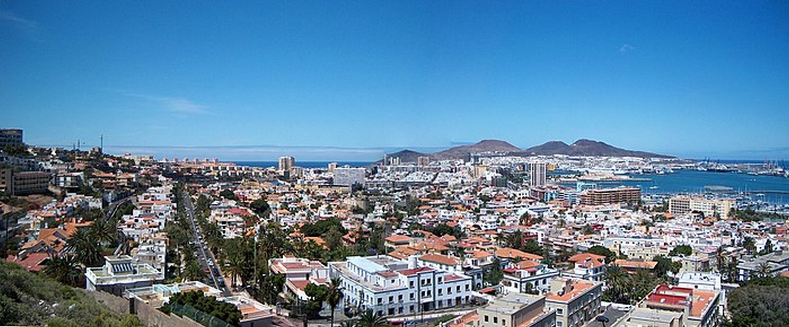 Architecture of Cities: Las Palmas: One of the largest cities in Spain Sheet1
