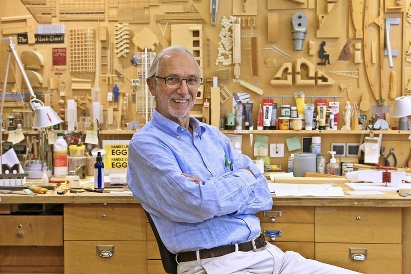 An Inside look at the Studios of Renzo Piano Sheet1