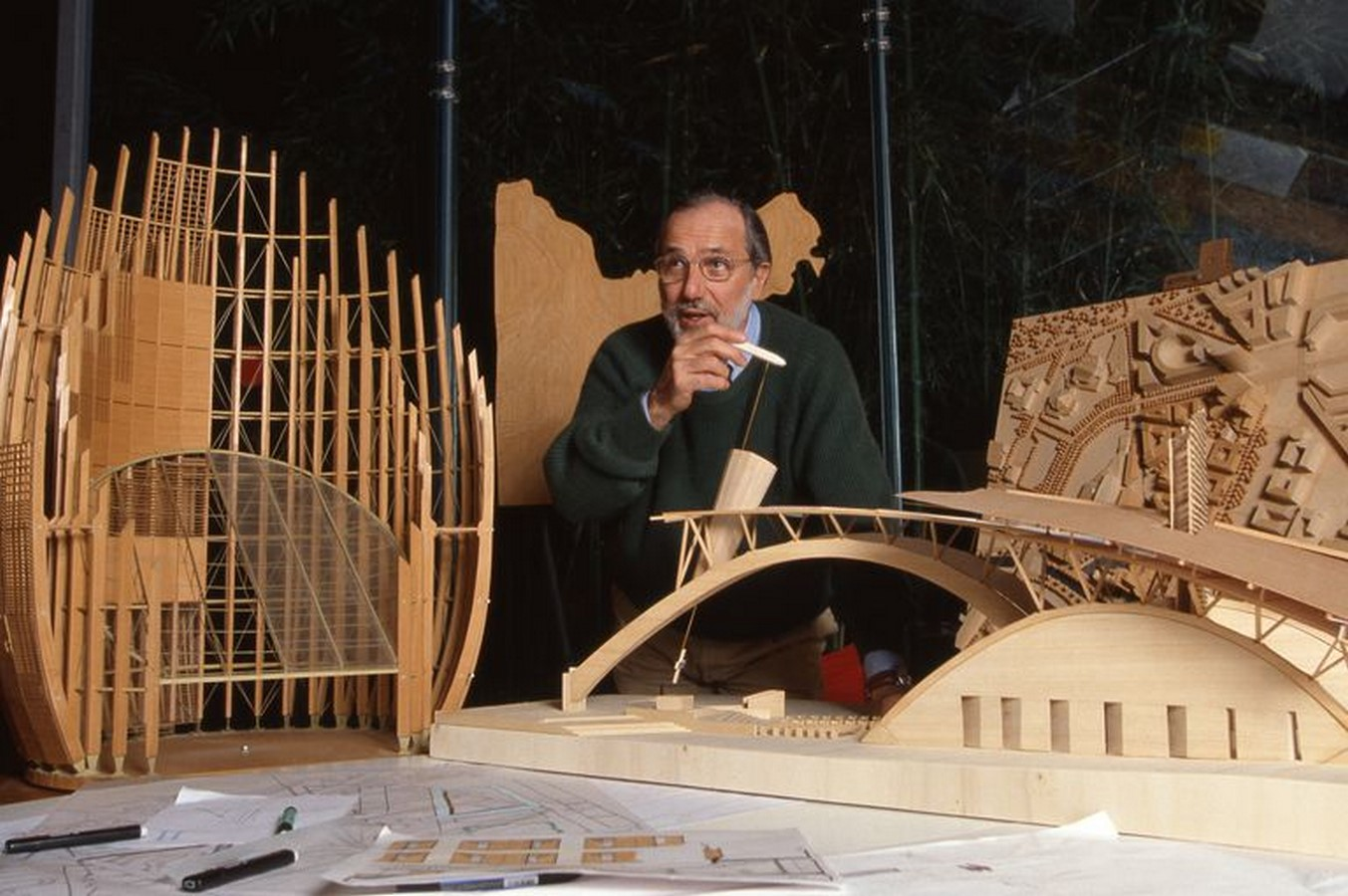 An Inside look at the Studios of Renzo Piano Sheet3