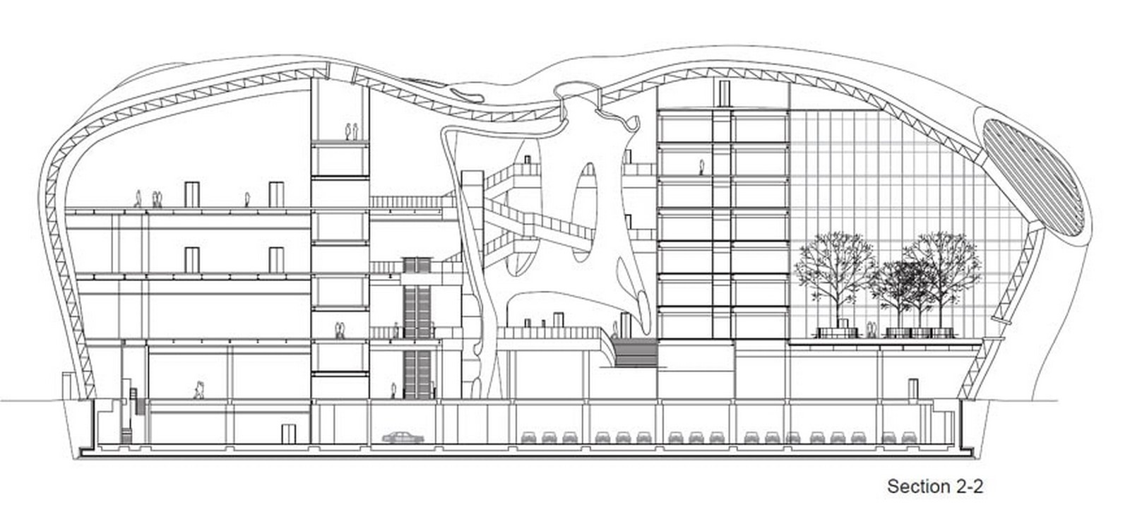 Ordos Art & City Museum by MAD Architects: Familiar yet a Distinct Museum Sheet2