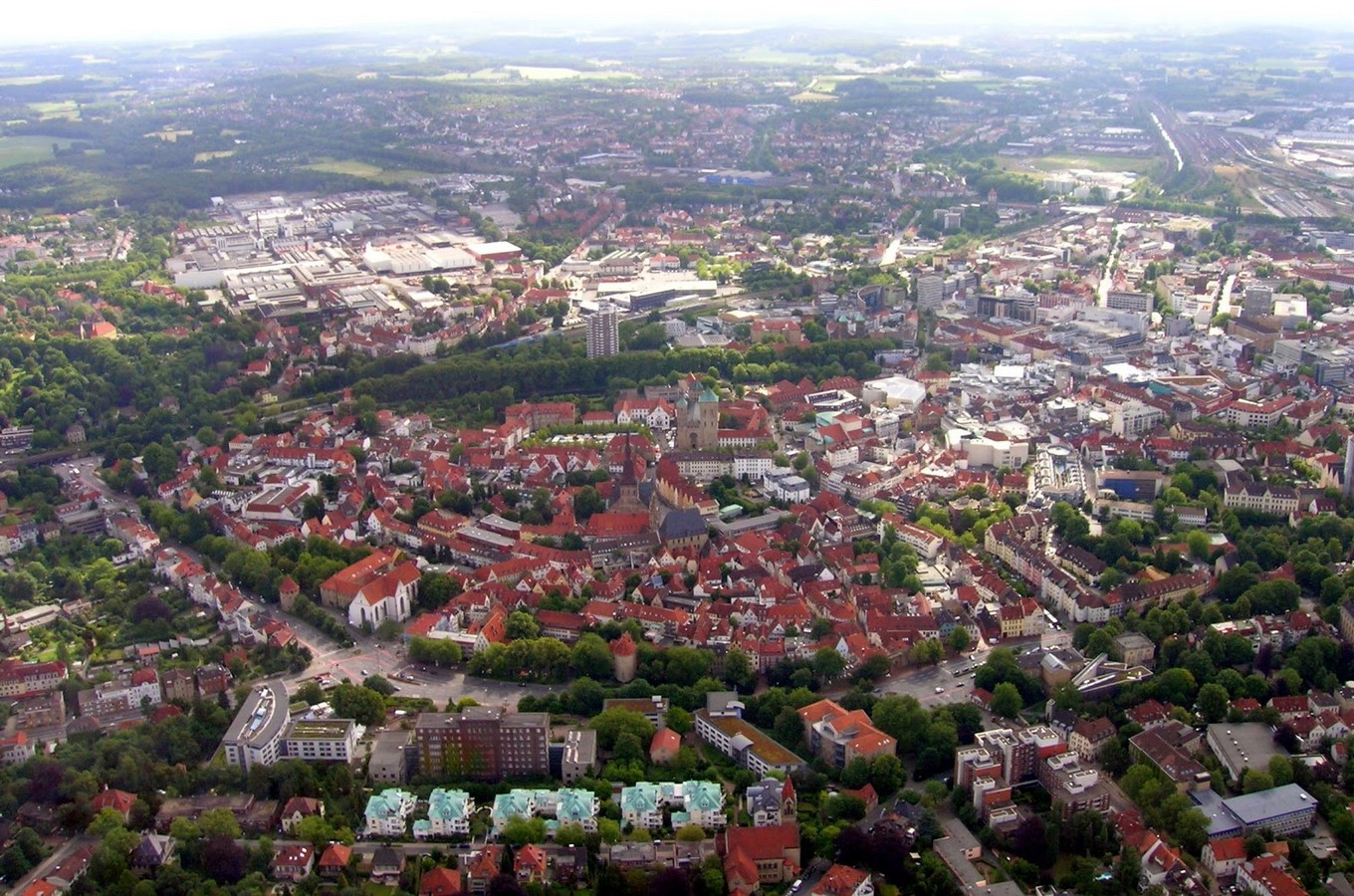 Architecture of Cities: Osnabrück: Industrial area of Germany Sheet1