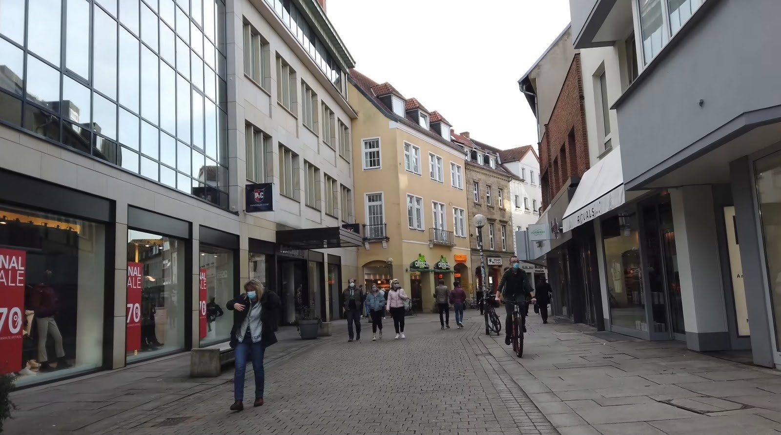 Architecture of Cities: Osnabrück: Industrial area of Germany Sheet3