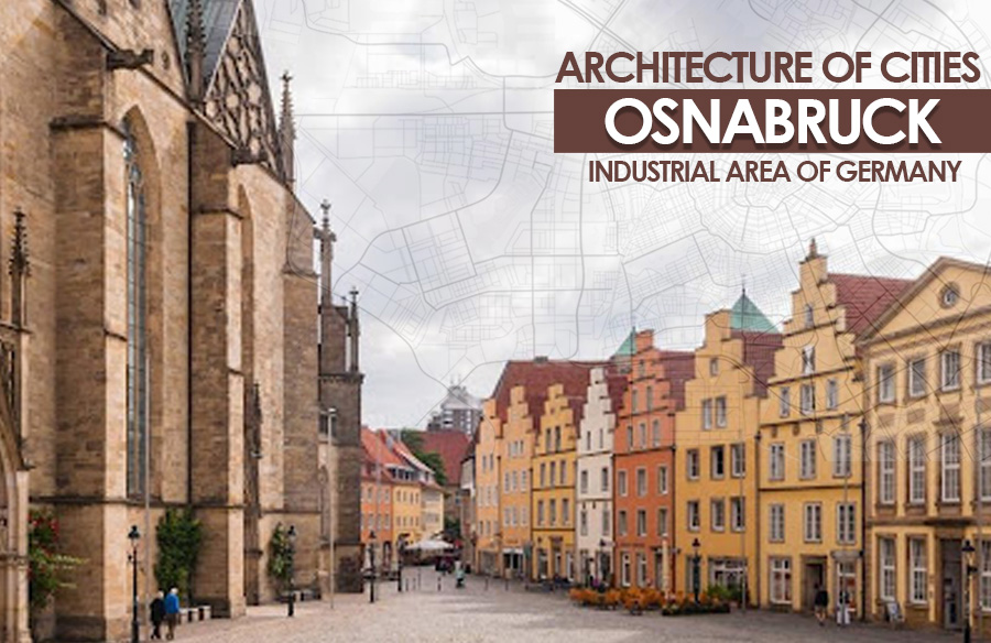 Architecture of Cities: Osnabrück: Industrial area of Germany