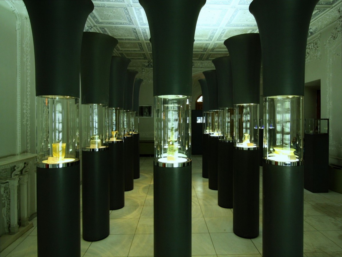 Glassware and Ceramic Museum of Iran by Hans Hollein: Palace turned Museum Sheet4