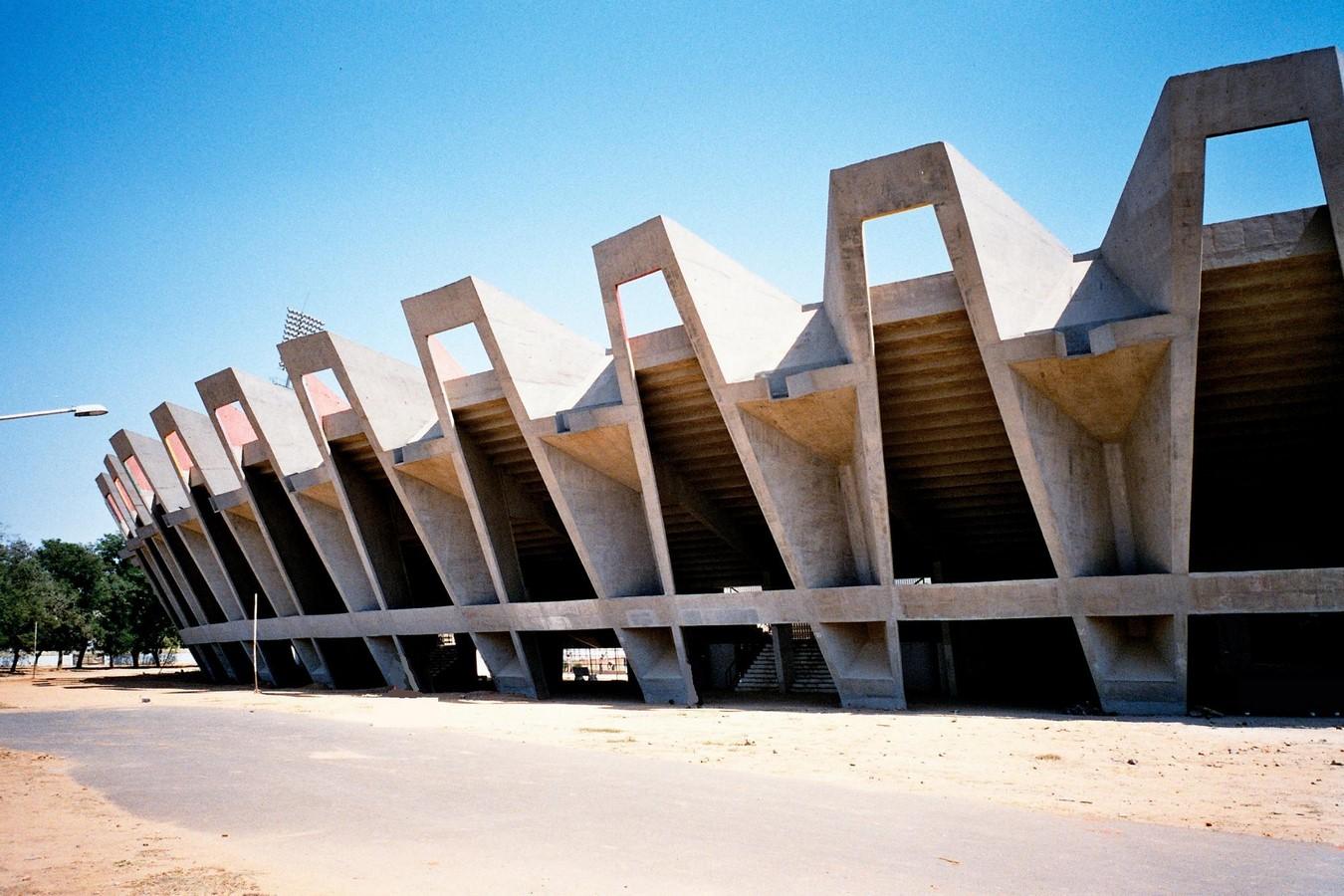 Sardar Vallabhbhai Patel Stadium (Navrangpura) by Charles Correa: A World Monument Sheet1