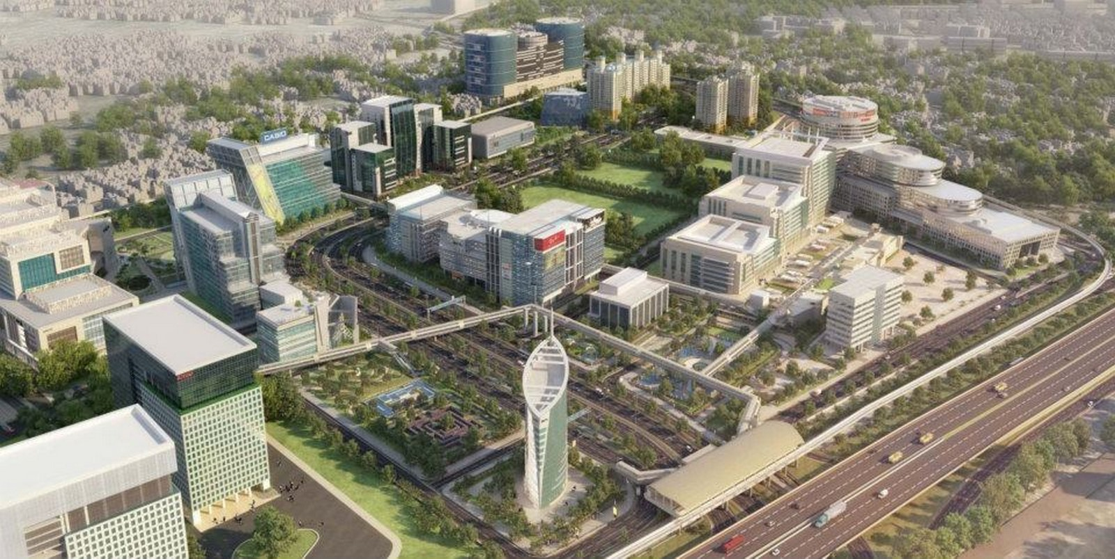 DLF Cyber City, Chennai by Hafeez Contractor: New Generation Offices Sheet4