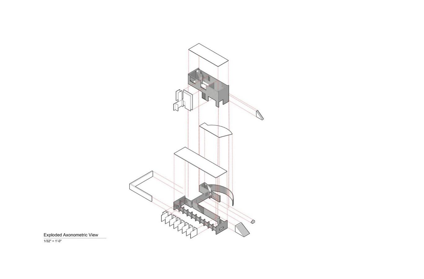 Koshino House by Tadao Ando: The play of Light Sheet13