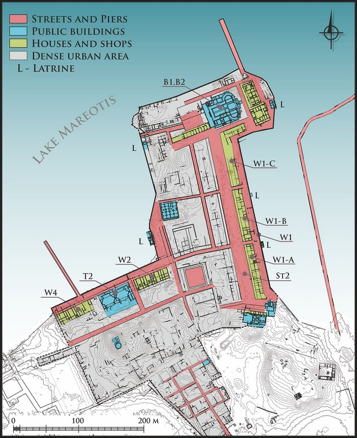 Archaeologists discover new urban precinct in Egyptian settlement of Marea Sheet3