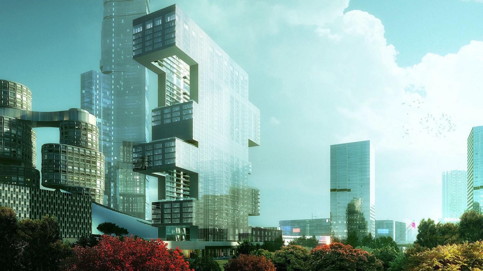 Sculpting a Futuristic Utopia of Architecture? Sheet2