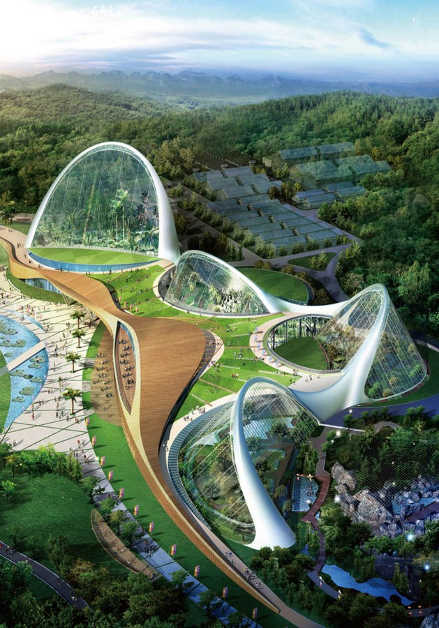 Sculpting a Futuristic Utopia of Architecture? Sheet3